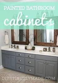 Paint Bathroom Vanity Ideas Painted Bathroom Cabinet Enthralling Painted Bathroom Vanity Ideas