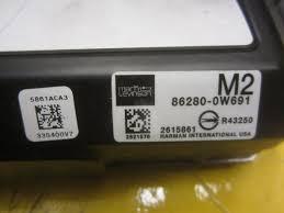used lexus auto parts lexus mark levinson amplifier amp 862800w691 used auto parts