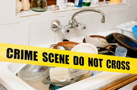 The Kitchen Sinka No  Hotspot For Germs The Cleaning Shop UK - Dirty kitchen sink