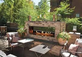 Outdoor Metal Fireplaces - outstanding gas fireplace for outdoors under wrought iron glass
