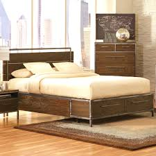 captivating urban industrial style king size bedroom dresser