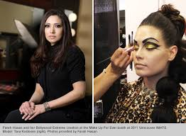 best makeup schools top makeup school graduate and instructor farah hasan makeup