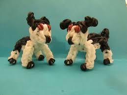 american pitbull terrier figurines rainbow loom american pit bull or staffordshire bull terrier dog
