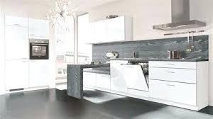 cuisine blanc laqué cuisine laquee blanche plan de travail gris cuisine plan travail