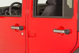 pink jeep interior jeep door handles quadratec