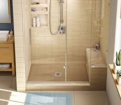 Installing Tile In Shower Installing A Shower Pan How To Install A Custom Shower Pan In Less