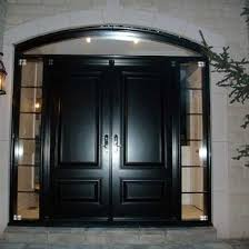 8 Foot Exterior Doors Entry Executive 8 Foot Fiberglass Solid Parliament Front