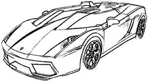 free printable race car coloring pages kids sports car