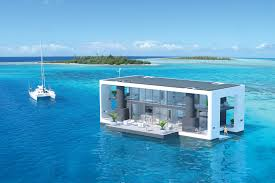 House Over Water Arkup Mobile Overwater Villas Uncrate