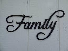 Tremendous Metal Wall Decor Hobby Lobby Family Word Decorative Metal Wall Art Home Decor By Jnjmetalworks