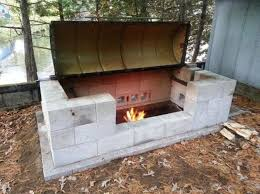 home built smoker plans inexpensive diy smoker grill ideas for your bbq party rocket mass