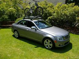 mercedes c class roof bars ordered c300 roof rack and bike rack mbworld org forums