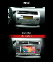 hd touchscreen 2004 2010 citroen c4 android 6 0 radio dvd player