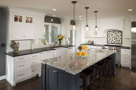 kitchen cabinets contrast colors kitchen with contrast cabinets color white perimeter
