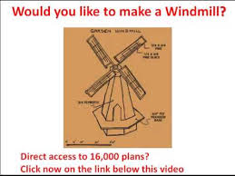 wooden windmill how to make a windmill windmill drawings needed