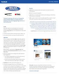 is bud light made with rice bud light publishing case study boosting sales through digital media