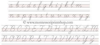 print cursive letters letter idea 2018