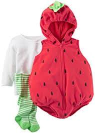 Carters Halloween Costume Amazon Carter U0027s Halloween Costume Baby Strawberry 24 Mos 3