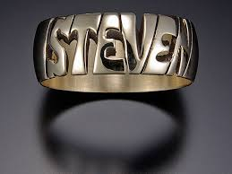 name rings com images Vickerman name rings personalized hand carved name rings jpg