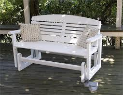 outdoor glider bench ideas u2014 the homy design