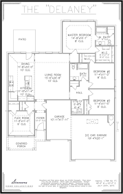 Tulsa Home Builders Floor Plans by Delaney Tulsa Home Builders Simmons Homes