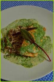 cuisiner l oseille fraiche recette saumon à l oseille riz sauvage 750g