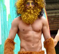 Cowardly Lion Costume Cowardly Lion A Photo On Flickriver