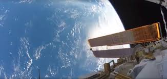nasa space pictures nasa spacewalk astronaut randolph bresnik shares incredible gopro
