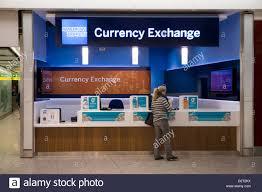 bureau de change sydney currency exchange airport stock photos currency exchange airport