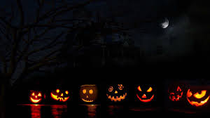 1366x768 halloween pumpkin desktop