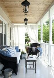 Sun Porch Curtains Sun Porch Curtains Fabulous Front Porch Curtains Designs With Best