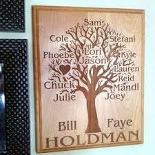engraved family tree plaque enchanted memories custom engraving