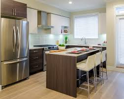 modern kitchen island kitchen small modern kitchen with island and bar stools space
