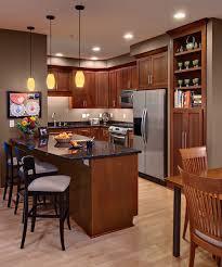 shaker cherry cabinets kitchen design photos