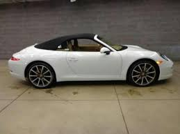 white porsche 911 convertible export 2013 porsche 911 white on beige