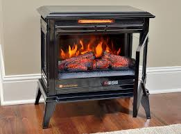 Electric Fireplace Stove Comfort Smart Jackson Black Infrared Electric Fireplace Stove With