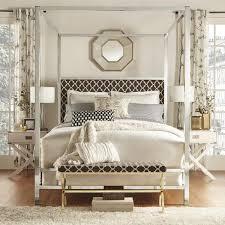 Black King Canopy Bed Redford House Wellesly Poster Black Bed Frame