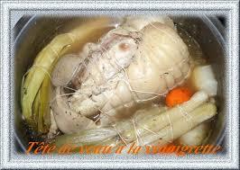 cuisiner une tete de veau plats régionaux la tête de veau à la vinaigrette chezmamielucette