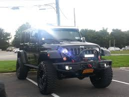 modified white jeep wrangler must see lots of mods 2015 jeep wrangler unlimited rubicon hard