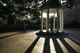 university lighting chapel hill north carolina academic fraud went on for years amid lax oversight
