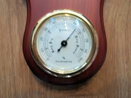 Decorative Home Furnishings Wooden Barometer Decorative Home Furnishings