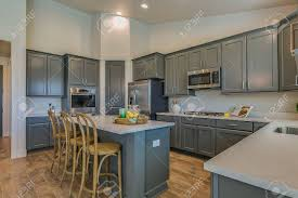 small kitchen gray cabinets small kitchen island with gray cabinetry