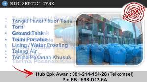 Bio Bandung bio septic tank i jual septic bandung 081 214 154 28