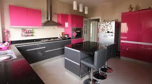 grande cuisine moderne maison espace maison et espace fabrique des cuisines sur