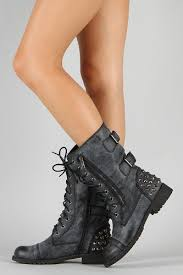 womens harley davidson boots size 12 harley 12 womens lace up studded combat boot black shoes