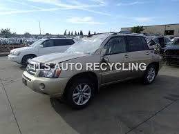 2002 toyota highlander parts parting out 2006 toyota highlander stock 4099yl tls auto
