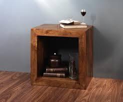 wood cube end table dakota mango cube side table casa bella furniture uk