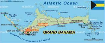 bahamas on a world map island and city maps the caribbean stadskartor och turistkartor