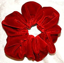 hair scrunchie velvet hair scrunchies regular made in the usa