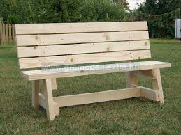 Wood Bench Plans Ideas by Outdoor Bench Ideas Treenovation